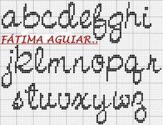 Cross-stitch Cursive Lowercase ABCs...   lr2.jpg 400×308 pixel