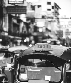 Tuk tuk in Bangkok Thailand Bangkok Thailand, Krabi Thailand, Visit Thailand, Bangkok Shopping, Bangkok Hotel, Bangkok Travel, Thailand Travel, Black White Photos, Black And White Photography