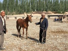 At the Sunday market in Kashgar   – living at the fullest