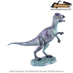 Cryolophosaurus - GeoWorld Jurassic Hunters Realistic Dinosaur Collectible Toy Figure Model with Educational Learning Fact Card - Nothing But Dinosaurs