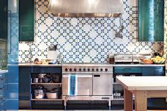 Decorator Rita Konig provides the recipe: Moroccan tiles, warm lighting and a sprinkling of living-room furniture.