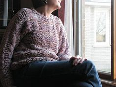 Chris Knits in Niagara: Colinette Saddle Shoulder Sweater
