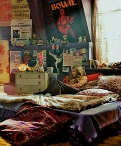 Hermoso! … | Interiores | Pinterest | Hippy bedroom, Bedrooms and ...