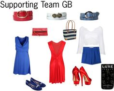 """""""Team GB"""" by glam-net on Polyvore"""