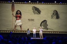 Moana concept from D23 Expo 2015