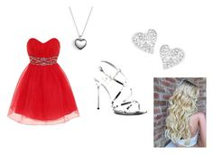 """Prom dress"" by susmita-bhattarai on Polyvore featuring Dorothy Perkins, Fabulicious, Pandora and Vivienne Westwood"