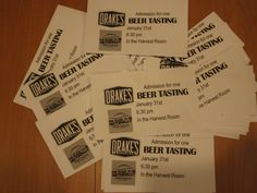 Drakes brewing is our Beer Tasting for January! Only $5. #beertasting #Drakesbrewing #craftbeer