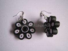 Handmade Jewelry - Paper Quilling Flower Earrings (11)