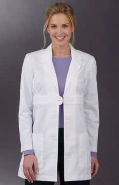 Peaches 8617 Lab Coat ProGarmentUSA