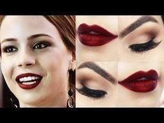 Makeup inspirada em Leandra Leal - Maquiagem clássica para qualquer ocas...