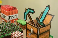 Lembra-Art Produções: Festa minecraft