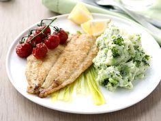 Pladijs met broccolipuree - Libelle Lekker!