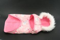 Pink Snowman Dog Coat - Sale Price