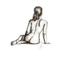 What to Wear pencil sketch - Tipsy Scribbles - A picture says a thousand words when wine loosens the tongue.