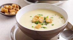 pórkovo-bramborová polévka