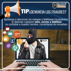 ¡Realiza compras en línea seguras! siguiendo nuestros tips. Control, Security Systems, Ip Camera, Online Shopping