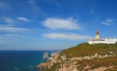 Portugal, Cabo da Roca. If you look west, next stop is America. But, of course, you can't see it:-). There was a time when people thaught this is the end of the world... Fantastic scenery, exquisite impression.