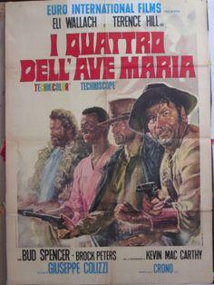poster-2f-I-QUATTRO-DELLAVE-MARIA-HILL-BUD-SPENCER-SPAGHETTI-WESTERN-S83320