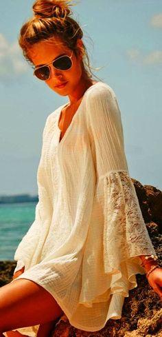 Cute bathing suit cover