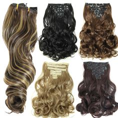 clip in human hair extensions 8 stks 100 200g clip in haar