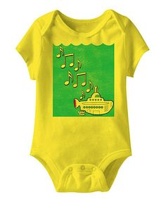 Take a look at this Yellow Submarine Bodysuit - Infant by American Classics on #zulily today!
