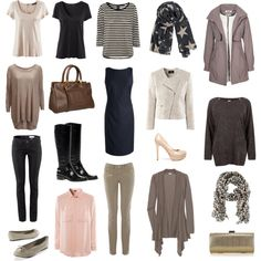 I compiled this capsule wardrobe for an Easter cruise with Color Line from Oslo, Norway to Kiel, Germany in the beginning of April.