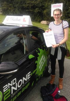 Well done Holly Hick from Falmouth on passing her practical driving test on Thursday 15/09/16 at Camborne test centre. A great drive with only 3 minor faults,good luck for the future from your instructor Stuart Holloway and all at 2nd2none.  https://www.2nd2nonedrivingschool.co.uk/driving-lessons-falmouth-cornwall.html