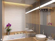 Łazienka | Małe mieszkanie dla Dwojga | Bathroom | Small Apartment for s Couple - zdjęcie od Vera Lambert - Łazienka - Styl Skandynawski - Vera Lambert