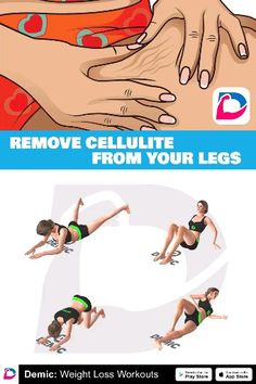 Best Ways To Remove Cellulite From Your Legs Fitness & Workout Easy Workouts, At Home Workouts, Butt Workouts, Workout Exercises, Fitness Studio Training, Workout Bauch, Gewichtsverlust Motivation, Reduce Cellulite, Weight Loss Plans