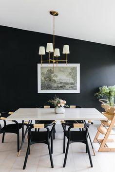 Anna Bond's Black-and-White Florida Home
