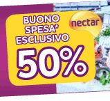 Nectar ed Auchan ti regalano un buono del 50% il 28 settembre 2012