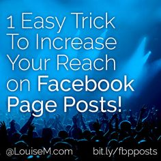Share relevant posts from your Facebook business page TO your personal profile. A friend was posting first on her personal profile, and sharing from there to her business page. Here are two reasons you don't want to do that way... (click thru to website to read the rest)