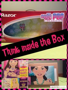 craft made from a box #craftyconjuring #doll clothes and accesories # melissa and doug