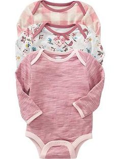 Bodysuit 3-Packs for Baby