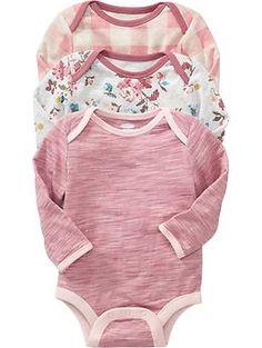 Bodysuit 3-Packs for Baby