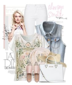 Sem título #2055 by bellerodrigues on Polyvore featuring polyvore, fashion, style, Topshop, Miu Miu, MICHAEL Michael Kors, Accessorize and Artesano