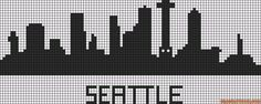 pays - country - seattle - point de croix - cross stitch - Blog : http://broderiemimie44.canalblog.com/