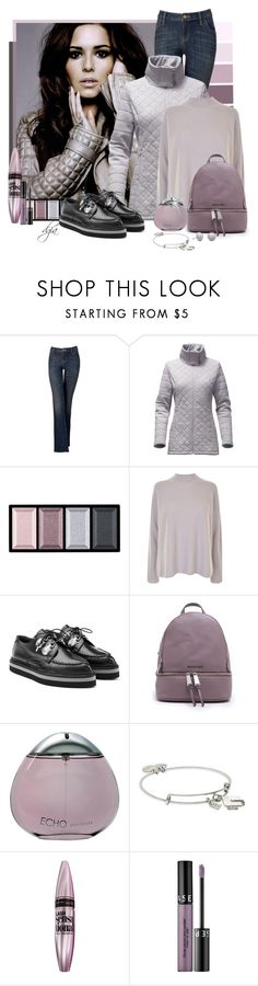 """Creepers"" by dgia ❤ liked on Polyvore featuring Simply Vera, The North Face, Clé de Peau Beauté, Vince, Alexander McQueen, Michael Kors, Davidoff, Alex and Ani, Maybelline and Sephora Collection"