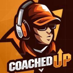 Warrior Drawing, Design Art, Graphic Design, Game Logo Design, Game Black, E Sport, Man Character, Cartoon Design, Sports Logo