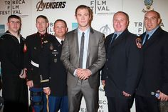 Something in the movie Marvel's The Avengers that you can't see until Friday was how they actually honored the First Responders of our country in the movie. This is Chris Hemsworth AKA Thor