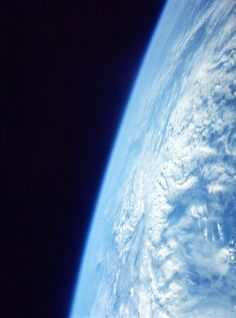 Planet Earth, June 6, 1966, photographed from the Gemini 9 spacecraft. (NASA/University of Arizona)