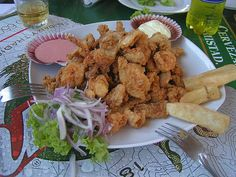 (Recipe In Spanish/Receta En Espanol) Chicharrón de Pescado (para 6 personas) : Comida Peruana