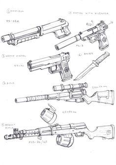 Specnaz Weapons 1 by TugoDoomER.deviantart.com on @DeviantArt