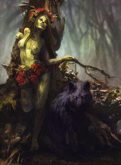 Моренн,The Witcher,Ведьмак, Witcher, ,Игры,Игровая эротика,Игровой арт,game art