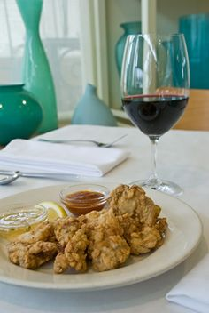Crunchy Fried Oysters with 2 Dipping Sauces | AmazingSeafoodRecipes