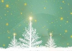 Wenskaart, Kerstboom, Achtergrond