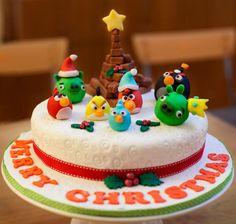Torte Angry Bird Christmas
