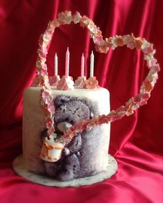 "Cake -""Favorite Teddy bear"" by Sweet pear"