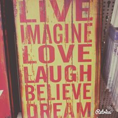 Imagine life with laugh and believe the dream she love...