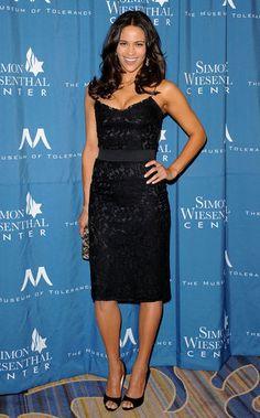 I love Paula Patton's hair. Michelle Monaghan, Paula Patton, Man Crush, American Actress, Pretty Dresses, My Girl, Female, Elegant, Night